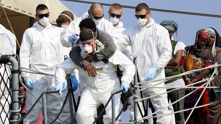 40 قتيلا في غرق مركب مهاجرين غير شرعيين قبالة سواحل ليبيا