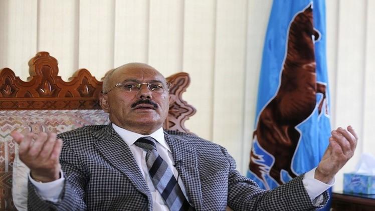 حزب صالح ينفي عقد أي اجتماعات وصالح يعارض مغادرة البلاد