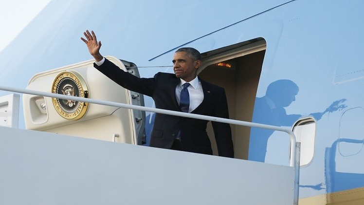أوباما يزور مسقط رأس والده في بداية جولة إفريقية
