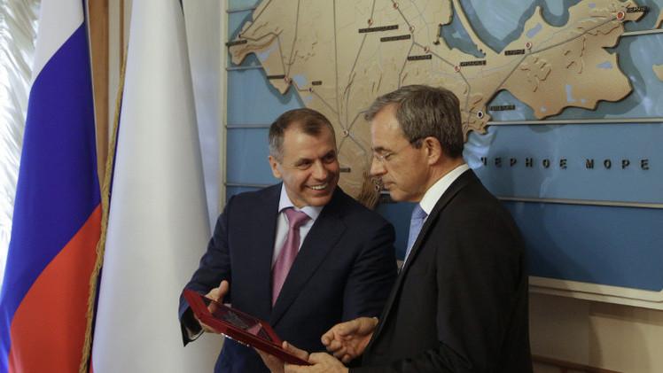 الوفد البرلماني الفرنسي: عودة القرم إلى روسيا تطور عادي