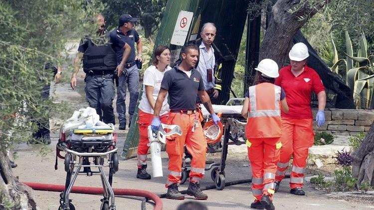 مقتل 7 أشخاص في انفجار مصنع للألعاب النارية جنوب إيطاليا