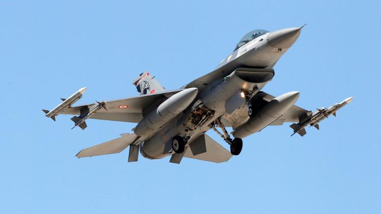 سلاح الجو التركي يجدد غاراته على مواقع تنظيم