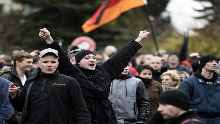 إصابات في مظاهرة ضد اللجوء في ألمانيا