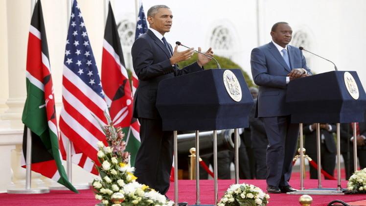 أوباما: حركة الشباب الصومالية ضعفت في شرق إفريقيا لكن تهديدها مايزال مستمرا
