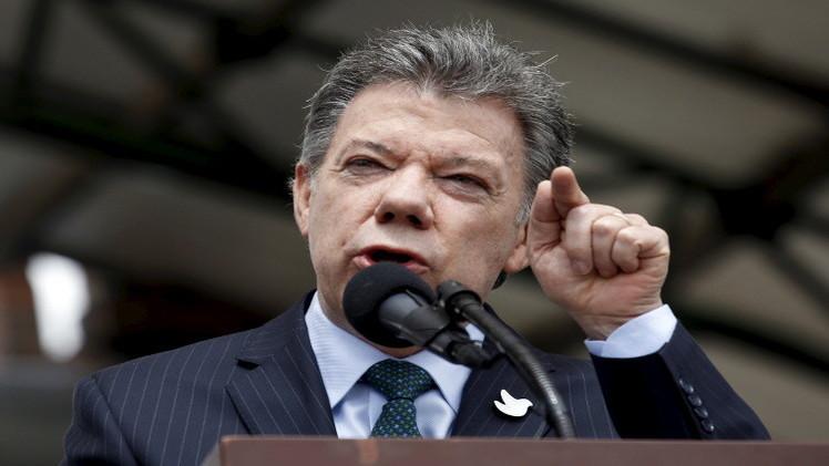 الرئيس الكولومبي يأمر بوقف قصف