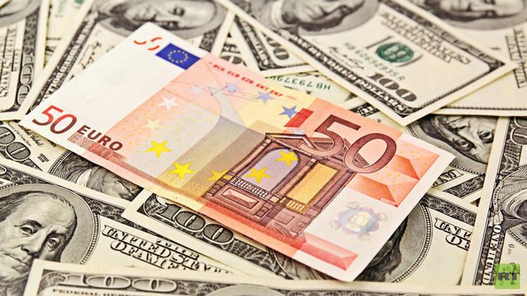 اليورو عند أعلى مستوياته في أسبوعين أمام الدولار