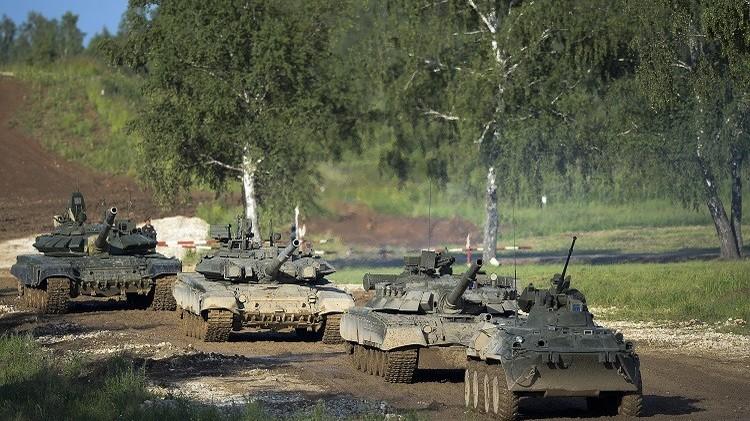 مناورات مكثفة جنوب روسيا على منع تسلل تشكيلات مسلحة غير شرعية