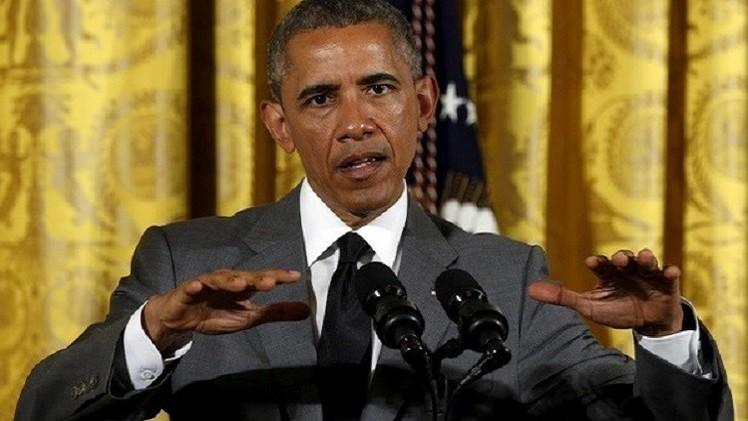 أوباما: لم أسمع حجة واقعية في الاعتراض على الاتفاق النووي مع إيران