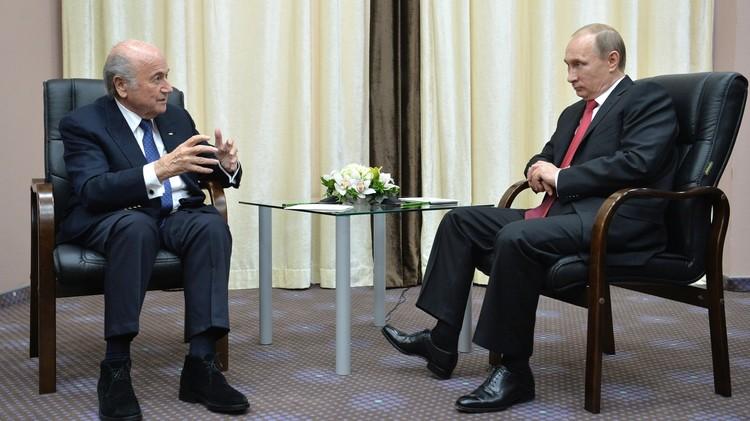 بوتين: الحملة الأمريكية ضد الفيفا