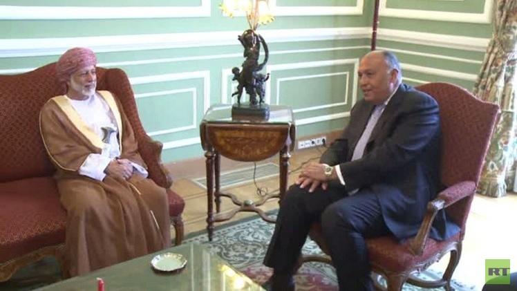 وزيرا الخارجية المصري والعماني في القاهرة