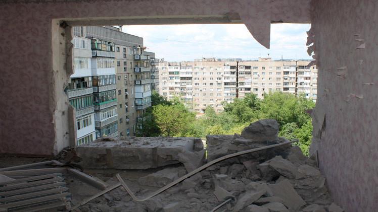 مقتل امرأتين بسبب قصف القوات الأوكرانية لمدينة غورلوفكا شرق البلاد
