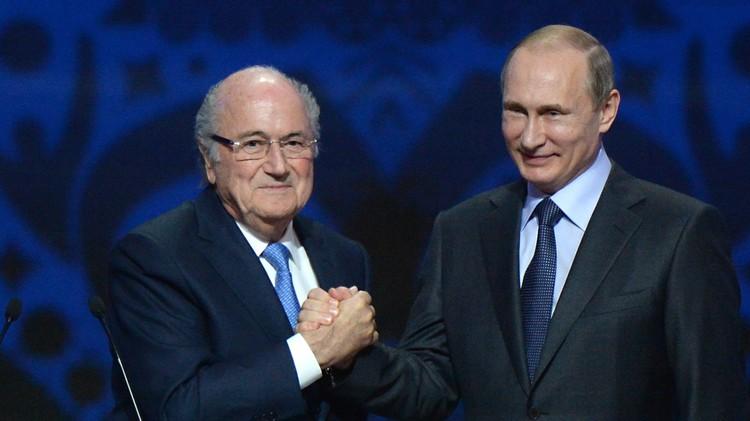 بوتين: أمثال بلاتر يستحقون جائزة نوبل
