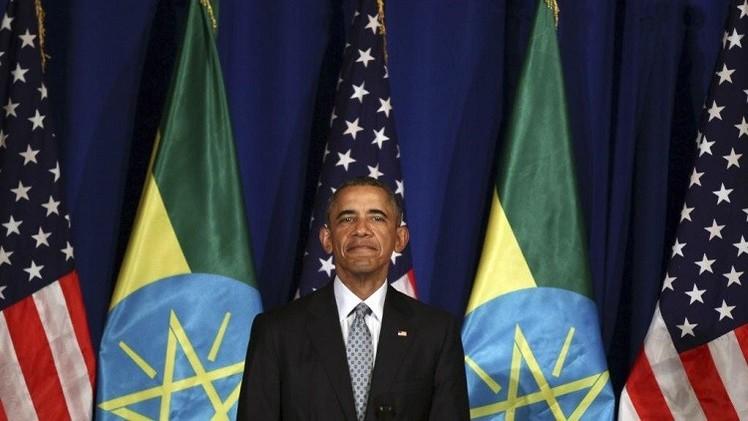 أوباما يؤكد تضامنه مع الزعماء الإفريقيين في حربهم على الإرهاب