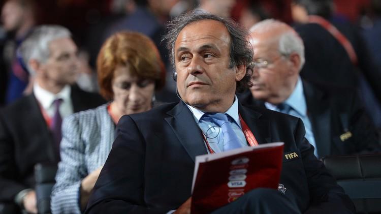 رسميا .. بلاتيني يترشح  لرئاسة الفيفا