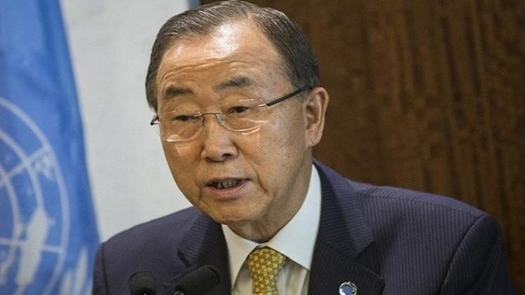 بان كي مون: ما يجري في سوريا أدى إلى ظهور تنظيم