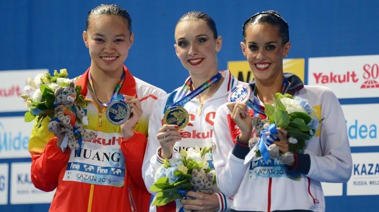 إيشينكو تفوز بذهبيتها الـ 18 في بطولات العالم للألعاب المائية (فيديو)
