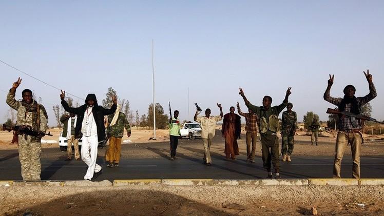 احتجاجات في مناطق ليبية على أحكام الإعدام بحق رموز نظام القذافي