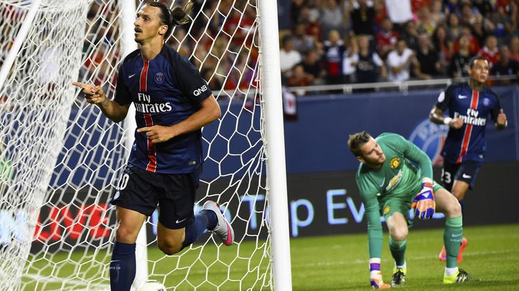 سان جيرمان ينال من مانشستر يونايتد بهدفين في كأس الأبطال