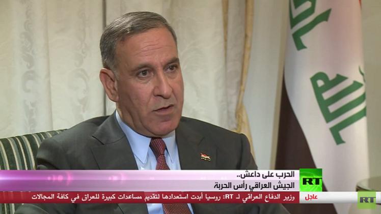 وزير الدفاع العراقي : سرطان الفساد سلم الموصل لداعش وإعلان الحرب أسهل من إنهائها!
