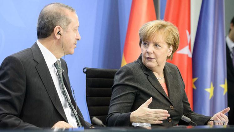 ألمانيا بين نارين