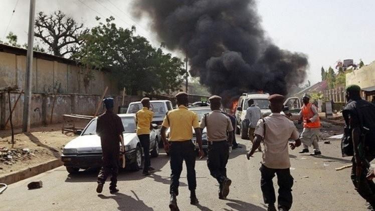 5 قتلى بانفجار قنبلة في سوق بنيجيريا