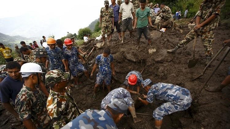 نيبال.. ارتفاع حصيلة قتلى الانهيار الأرضي إلى 36 قتيلا