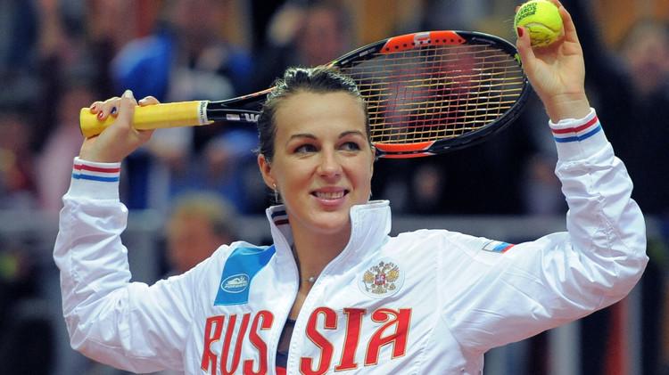 الروسية بافلوتشينكوفا إلى نصف نهائي كأس باكو للتنس