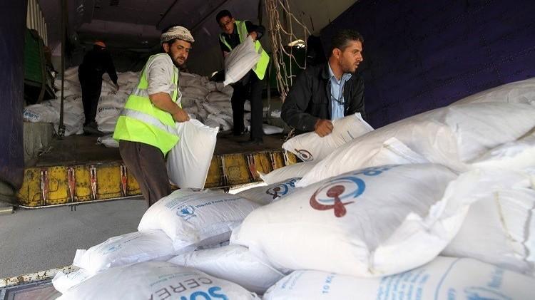 واشنطن ترسل قرابة 36 ألف طن من القمح مساعدات لليمن