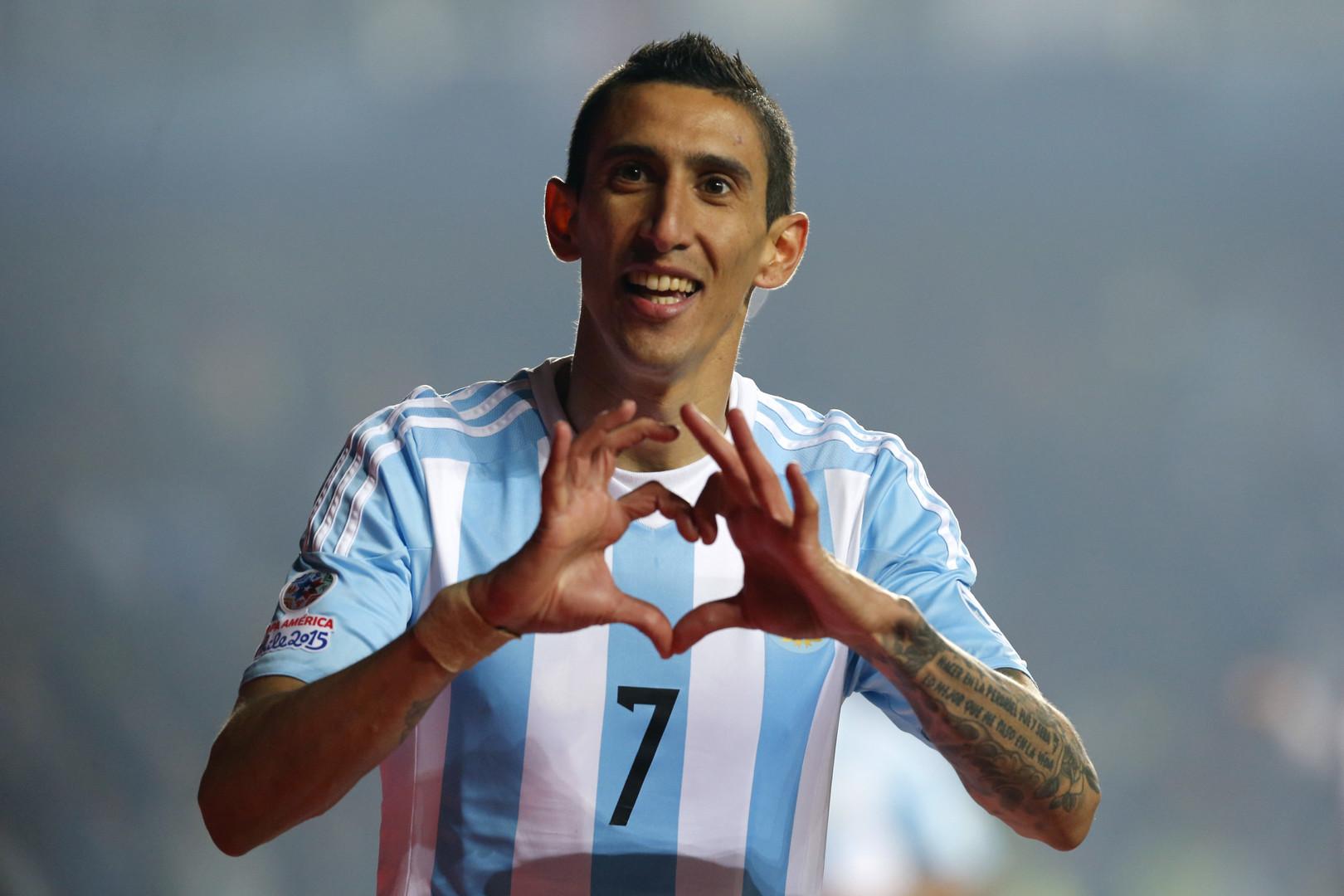 دي ماريا سجل هدفين في شباك باراغواي