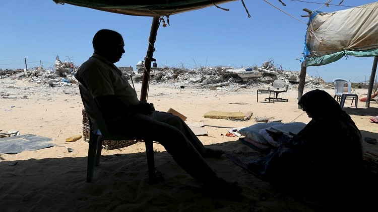 عام على حرب إسرائيل ضد غزة