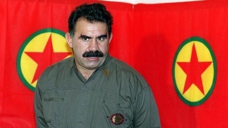 زعيم حزب العمال الكردستاني عبد الله أوجلان