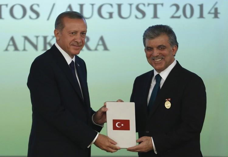عبد الله غل ورجب طيب أردوغان