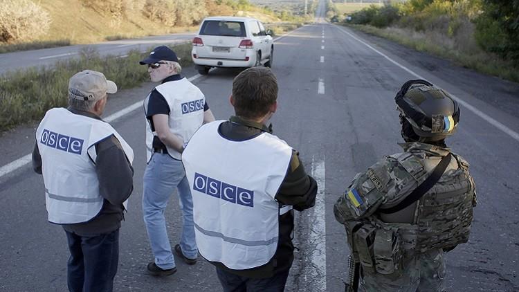 """مراقبو """"الأمن والتعاون"""" في دونباس"""