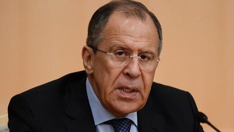 وزير الخارجية الروسي سيرغي لافروف - أرشيف