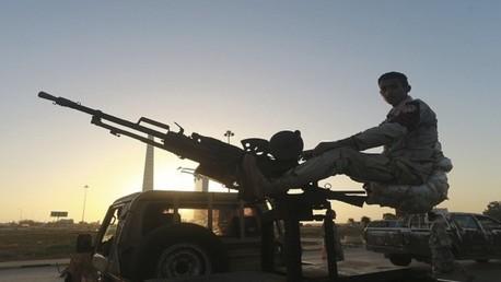 عنصر من القوات الليبية