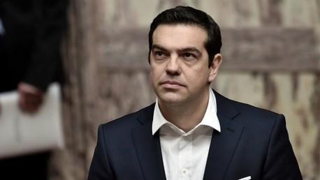رئيس وزراء اليونان ألكسيس تسيبراس