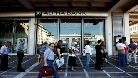 إغلاق المصارف اليونانية لمدة 3 أسابيع كبد الاقتصاد المحلي خسائر قدرت بنحو 3 مليارات يورو