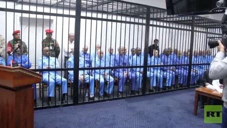 حكم غيابي بإعدام سيف الإسلام وعددا من رموز نظام القذافي
