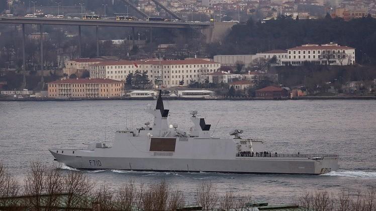فرقاطة فرنسية تنضم إلى القوات البحرية المصرية