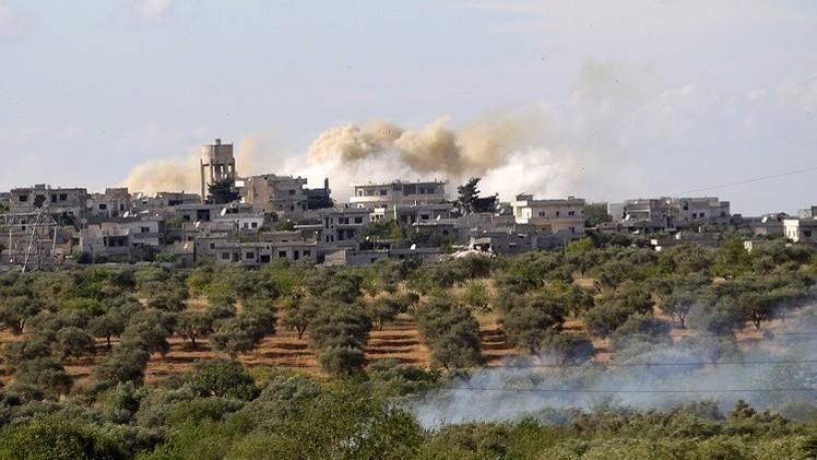 الجيش السوري يقوم بهجوم مضاد في ريف إدلب