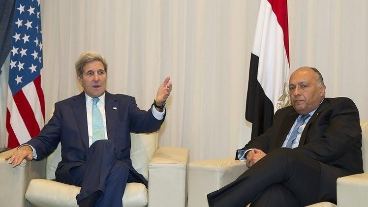 كيري: مصر دفعت ثمنا باهظا لمكافحة الإرهاب