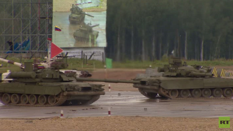 انطلاق الألعاب العسكرية الدولية في روسيا