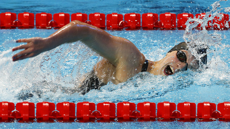 ثلاثة أرقام قياسية في بطولة العالم للألعاب المائية