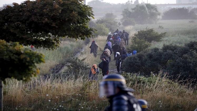 إخفاق محاولة تسلل 1700 مهاجر عبر النفق تحت بحر المانش
