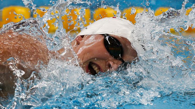 (فيديو) السباحة الأمريكية ليديتسكي تحطم رقما قياسيا في بطولة العالم