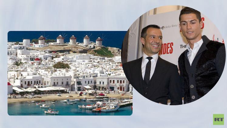 رونالدو يُهدي وكيل أعماله جزيرة في اليونان بقيمة 3 مليون يورو