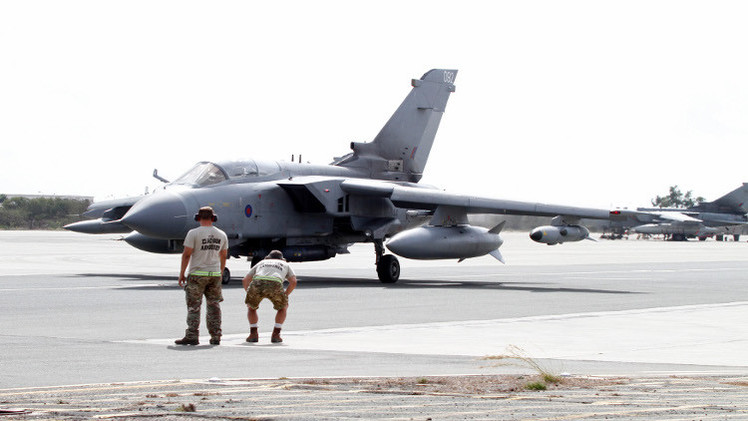 بريطانيا تمدد مشاركة تورنادو في ضرب