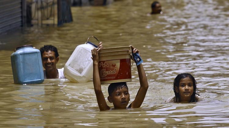ارتفاع حصيلة ضحايا الفيضانات في الهند إلى 220 قتيلا