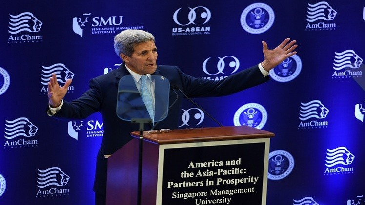 كيري: اتفاق التجارة الحرة بين دول المحيط الهادئ مفيد للجميع