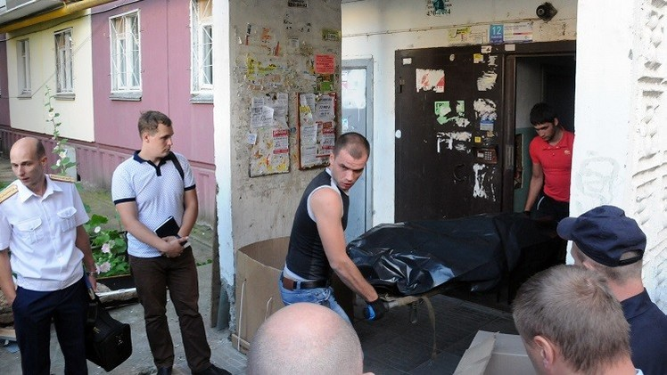 روسيا ..  شبهات حول قيام أب مختل بقتل والدته وأطفاله الستة وأمهم